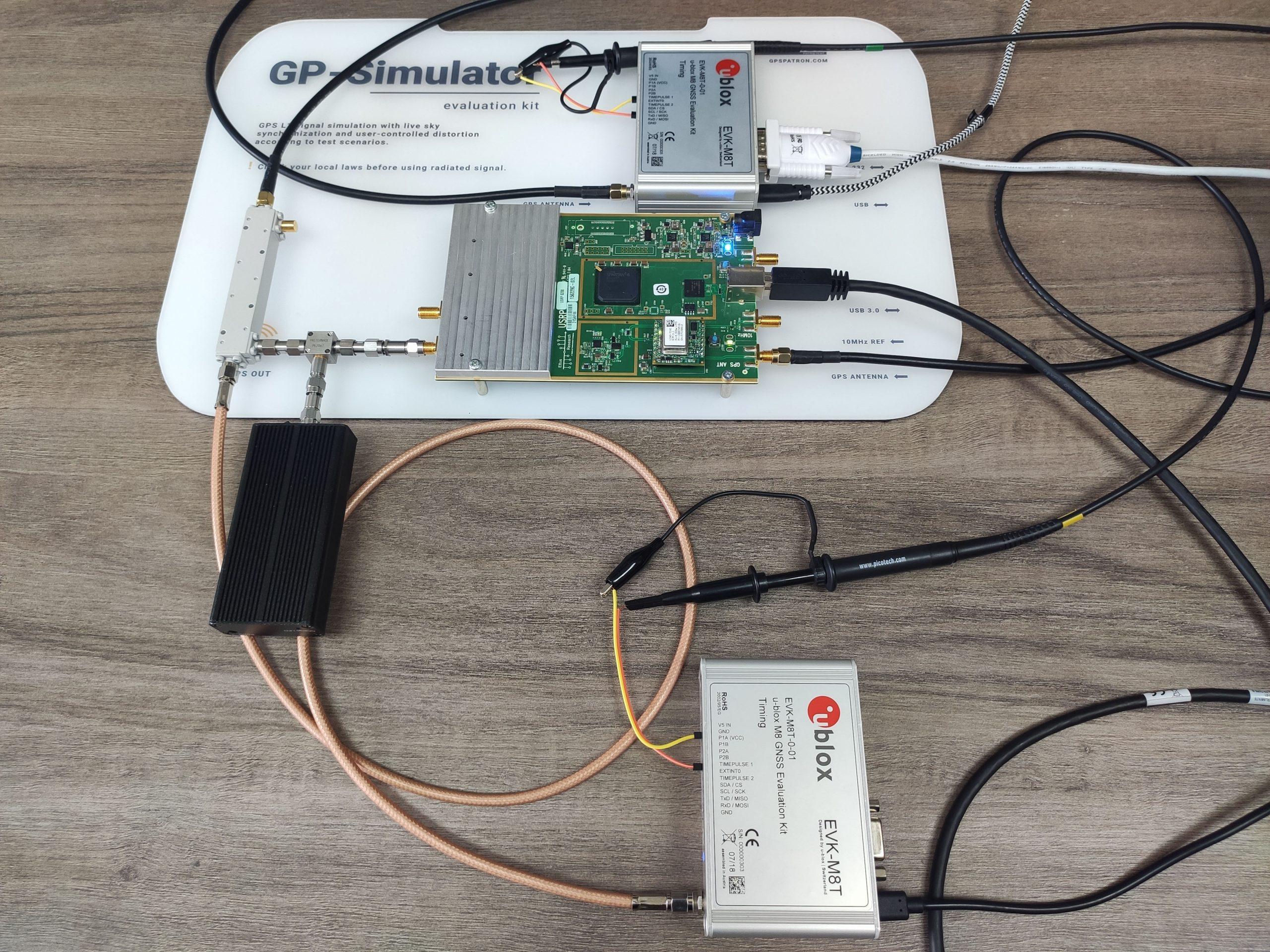 GPS Spoofing Experiment Setup Photo 2